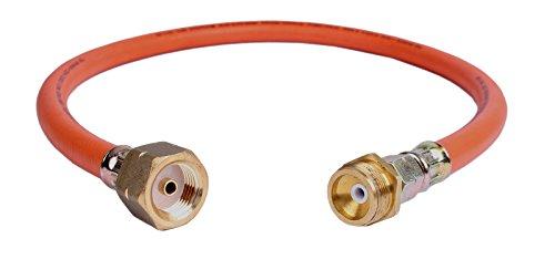 Adapterschlauch I für USA-Grill von US-Stahl-Kartusche/Einweg-Flasche auf deutsche Gasflasche