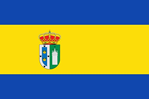 magFlags Flagge: Large Gines Sevilla | Gines, Seville, Spain | Gines, Sevilla, España | Querformat Fahne | 1.35m² | 90x150cm » Fahne 100% Made in Germany