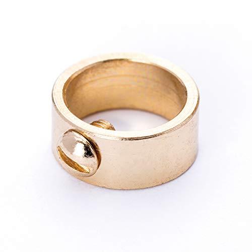 Stellring Messing für Rohr Ø 10 mm seitlich Feststellstellschraube/veredelt Stellschraube Schraube Ring