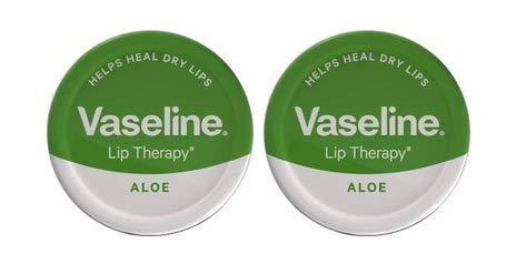 2x Vaseline Lip Therapy Aloe Vera–20G
