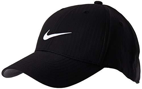 Nike Unisex Legacy91 Tech Hat, Unisex-Erwachsene Herren, Mütze, Unisex Legacy91 Tech Hat, schwarz/anthrazit/weiß, Einheitsgröße