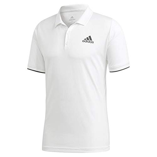 adidas Men's Tennis Freelift Polo White X-Large