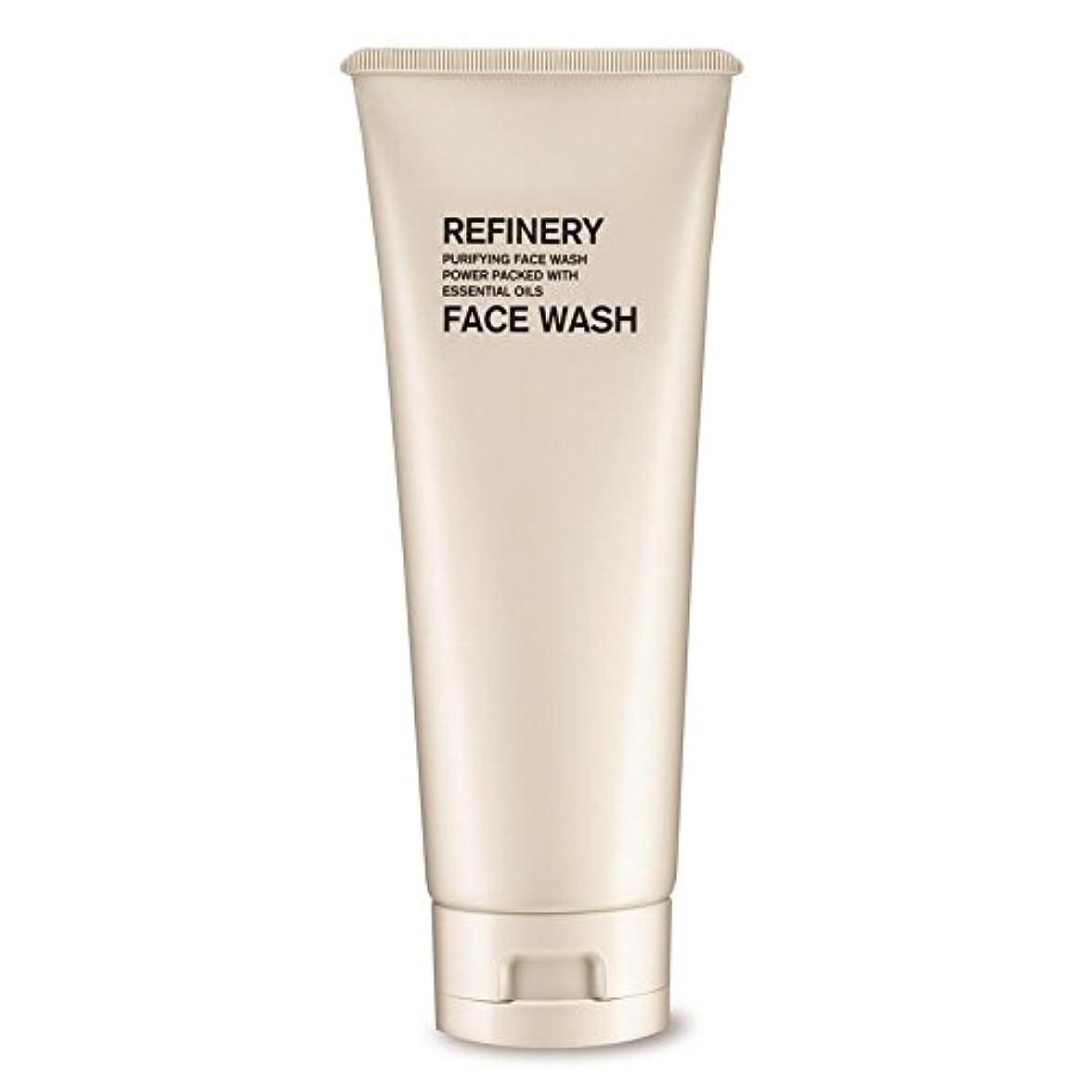 感じる一月製油所洗顔の100ミリリットル x2 - The Refinery Face Wash 100ml (Pack of 2) [並行輸入品]