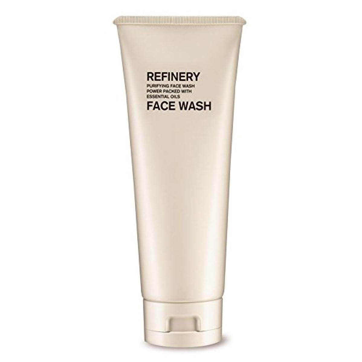 コート予測するカウントアップ製油所洗顔の100ミリリットル x4 - The Refinery Face Wash 100ml (Pack of 4) [並行輸入品]