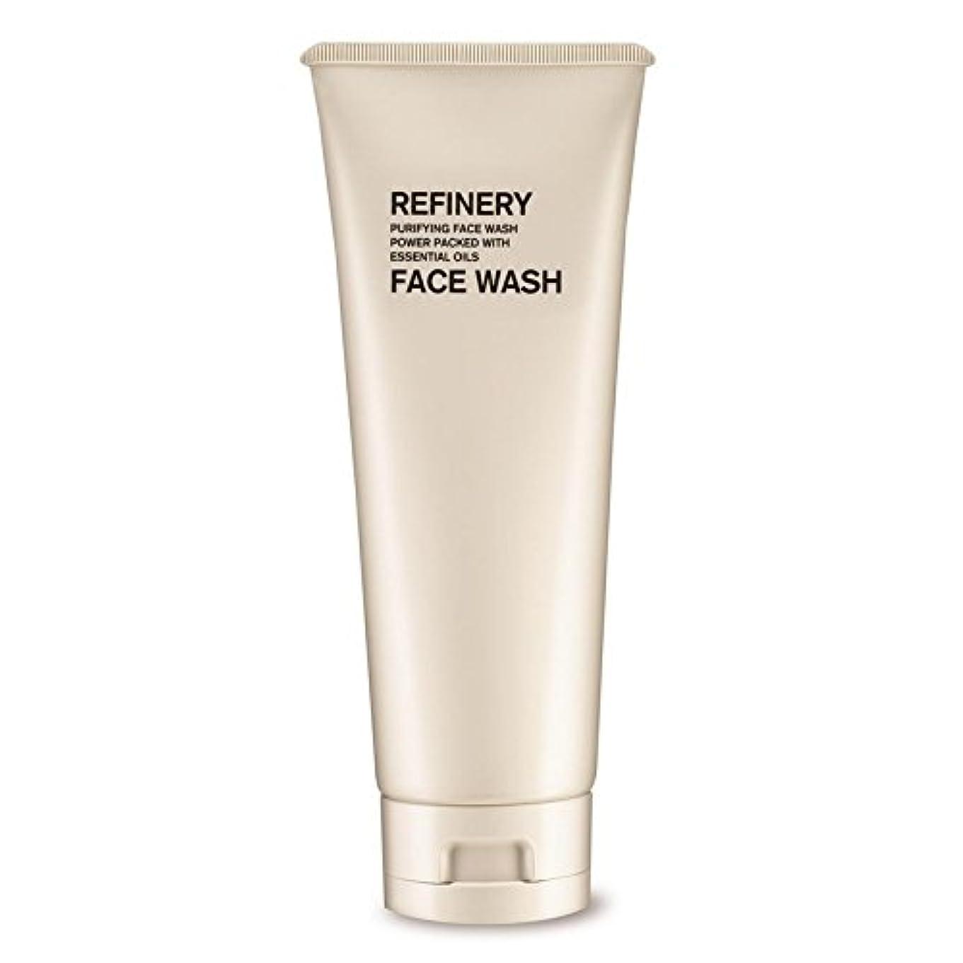 残る観客赤道製油所洗顔の100ミリリットル x2 - The Refinery Face Wash 100ml (Pack of 2) [並行輸入品]