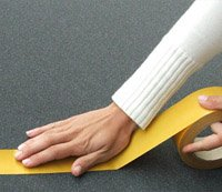 Doppelseitiges Klebeband für Schaumstoff Akustik Kleber Noppenschaum 25 lfm