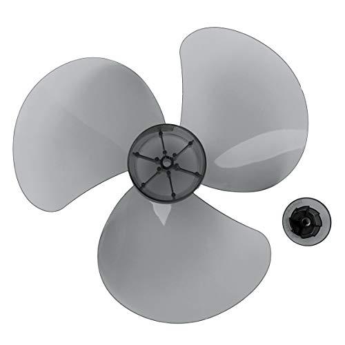 iEFiEL 5Piezas 16 Inches Aspas Hojas Plásticas de Ventilador para Ventilador de Techo Ventilador de Pie Ventilador de Mesa Repuestos Ventilador Gris 12 Inch