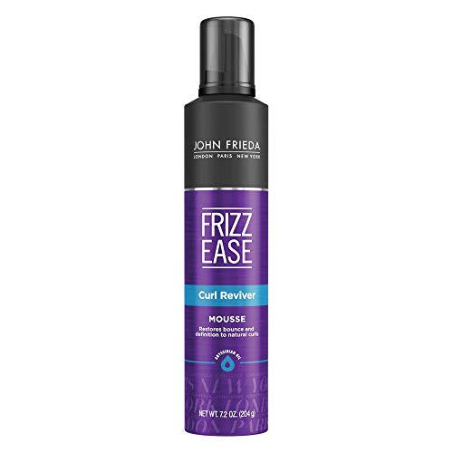 John Frieda Frizz Ease Curl Reviver Mousse, 7.2 Ounce