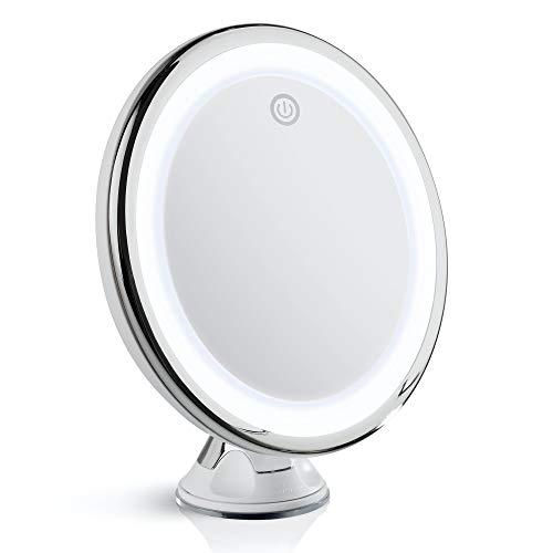 Fancii Specchio Ingranditore 10x per Trucco con...