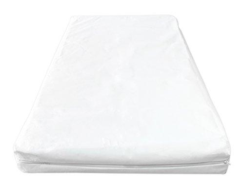Briljant Baby Evolon - Anti Allergie Matratzenbezug mit Reißverschluss 70 x 150 + 15 cm, Weiß