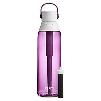 Brita Plastic Water Filter Bottle 26 oz Orchid