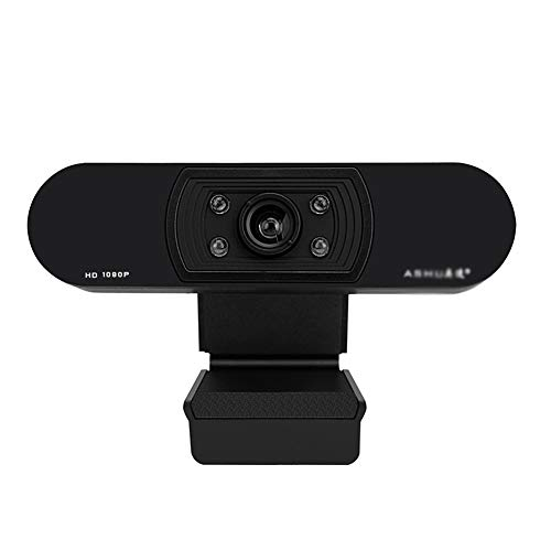 1080P webcam met ingebouwde microfoon Computer Full HD PC Een webcam for Remote Werken, Game Streamer, Video Calling, Recording Conferencing