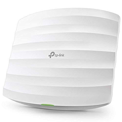 TP-Link Omada AC1350 Wireless Access Point – Seamless Roaming, Gigabit, MU-Mimo, Beamforming, Poe Powered, Free PoE Injector, Free Managing Software, Free Facebook/SMS Registration Portal(Eap225)