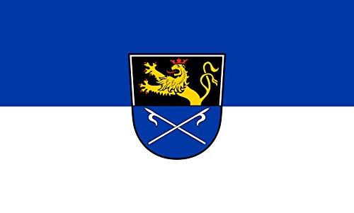 Unbekannt magFlags Tisch-Fahne/Tisch-Flagge: Hockenheim 15x25cm inkl. Tisch-Ständer