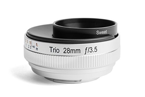 Lensbaby Trio 28 - Objetivo Tres Efectos para Micro 4/3 (28 mm, f/3.5) Color Negro