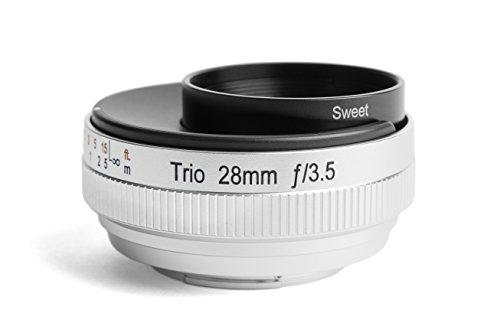 Lensbaby Trio 28 - Objetivo Tres Efectos para Fuji (28 mm, f/3.5) Color Negro