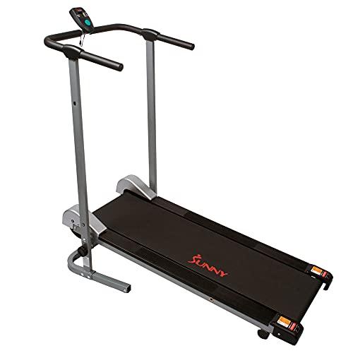 Sunny Health Manual Walking Treadmill