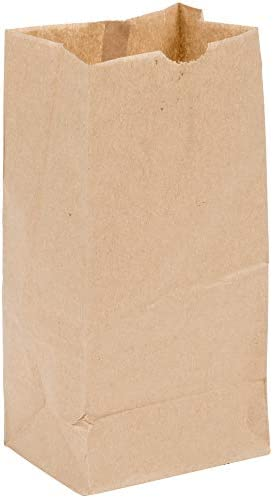 Perfect Stix Brown Bag 4 100 4lb Brown Paper Lunch Bags Pack of 100ct product image