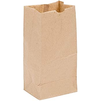 Perfect Stix - Brown Bag 4-100 4lb Brown Paper Lunch Bags - Pack of 100ct