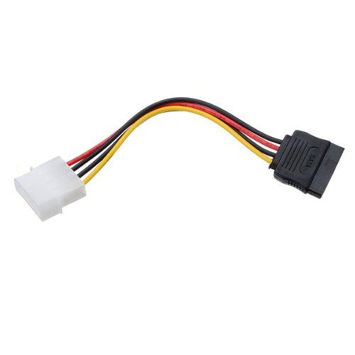 Cavo adattatore di alimentazione seriale a 4 pin IDE Molex 15 pin ATA-SATA