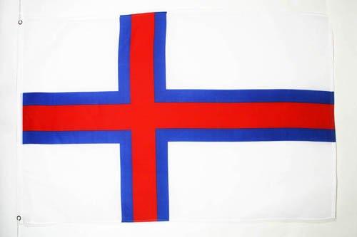 AZ FLAG Flagge FÄRÖER-Inseln 150x90cm - FÄRÖER Fahne 90 x 150 cm - flaggen Top Qualität