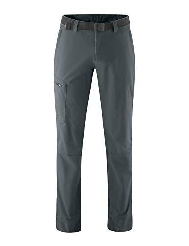 maier sports Nil Plus - Pantaloni Outdoor da Uomo, Uomo, Pantaloni per attività all'Aria Aperta, 132027, Grafite, 50
