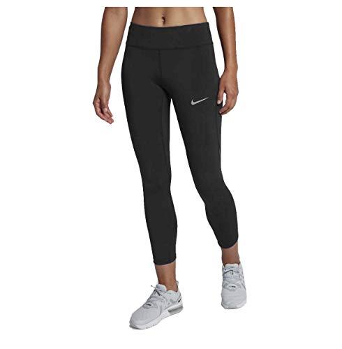 Nike Power Epic Lux Cropped Running Leggings (Obsidian, XS)