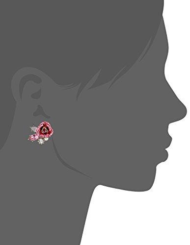 Betsey Johnson Mismatch Stud Earrings