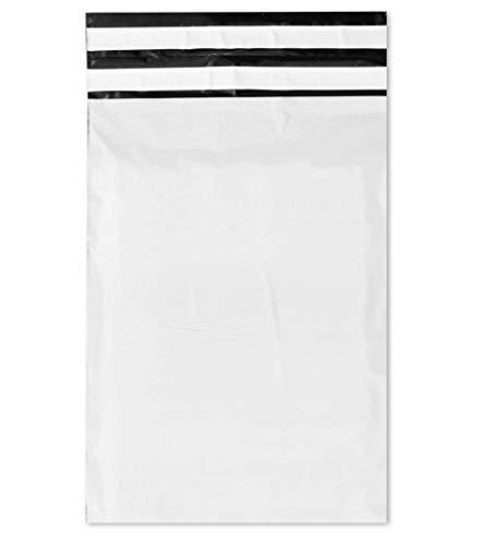 WeltiesSmartTools COEX Folien-Retouren-Versandtaschen 75my 250x350 + 70 mm 100 Stück Sicherheits-Permanentverschluß zum Aufbewahren und Verschicken von Textilien Dokumenten oder Wertsachen