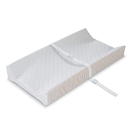 """Product Image of the Summer Contoured Changing Pad, 16"""" x 32"""", White –Comfortable and Secure..."""