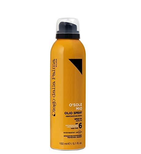 Diego dalla Palma O Sole Mio Olio Spray Corpo, Spf 6, Protezione Solare - 150 ml