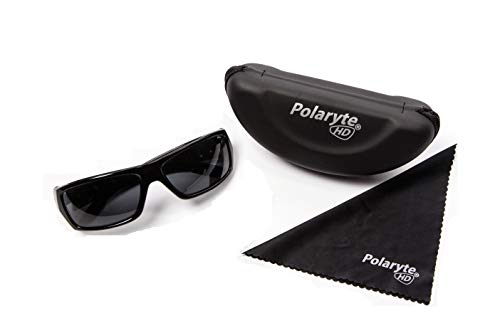 Polaryte HD gepolariseerde zonnebril mannen vrouwen, zonnebril Case schoonmaken doek-make