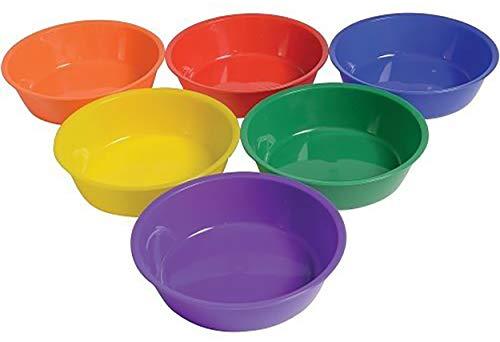 edx Education 53842 Cuencos de clasificación, 6 unidades, varios colores