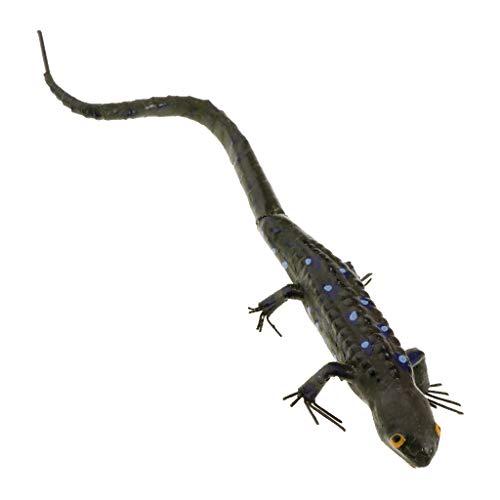 Sharplace Figurines d'Insectes en Argile Animaux Simulés Modèle Jouets - Gecko