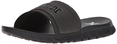 Nike Damen W Hrly Fusion Slide Sport Sandalen, Schwarz (Black/White 010), 40.5 EU