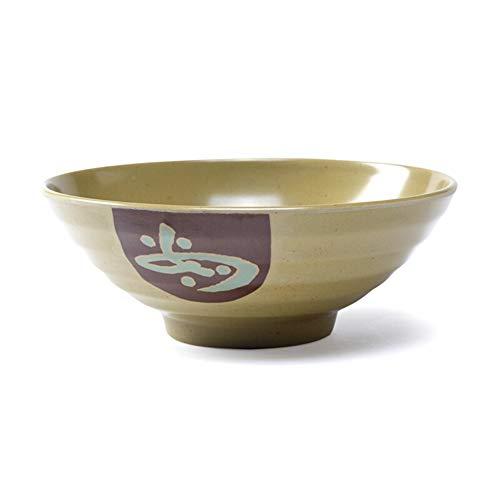ZH Ramen Bol à soupe Mélaminé Imitation porcelaine Restaurant fast-food Bol à céréales Un ensemble de 5 Green Practical (taille : 7 5 pouces)