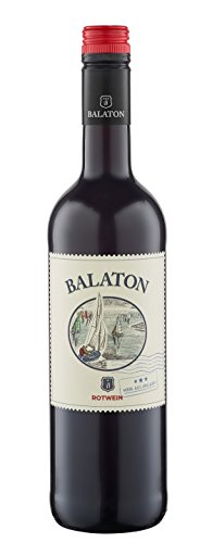 6x 0,75l - Balaton - Ungarn - Rotwein halbtrocken