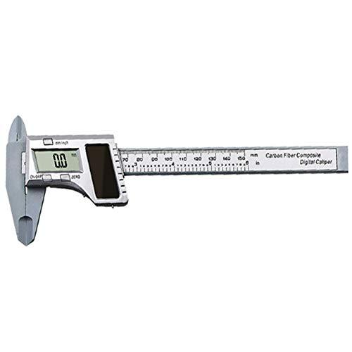 Calibre vernier no digital 200 mm, acero inoxidable, para medidas de profundidad//interior//exterior//paso Vernier Caliper MASO