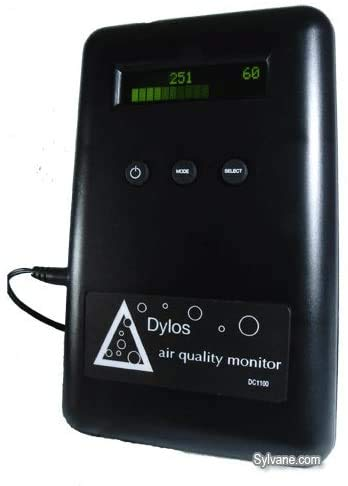 Dylos Standard Laser Air Quality Monitor (STD+HM)