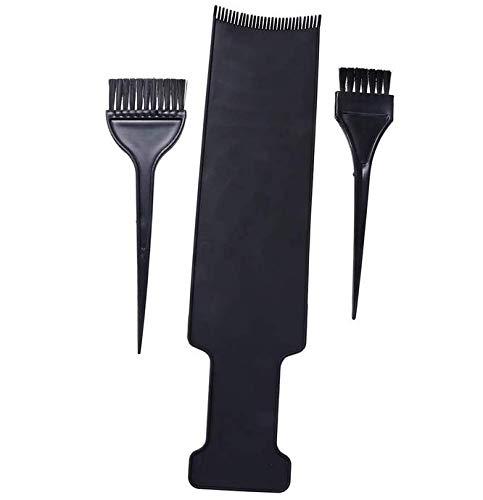 Lurrose Evidenzia Board Board Hair Coloring Tool Balayage Kit Barber Paddle Board con pennello