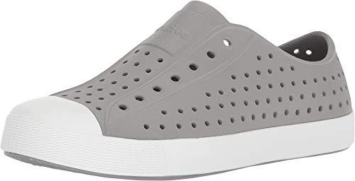 Native Kids unisex-baby Jefferson Water Shoe,pigeon grey/shell white,5 Medium US Toddler