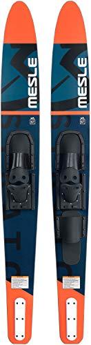 MESLE Combo Wasser-Ski Strato 170 cm mit B2 Bindung, Anfänger und Fortgeschrittene Combo-Ski für Jugendliche und Erwachsene bis 120 kg, Farbe:rot