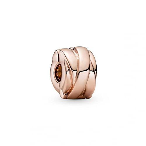 Pandora Pandora Moments Collection 789502C00 - Colgante de banda pulida, aleación de metal chapada en oro rosa de 14 quilates
