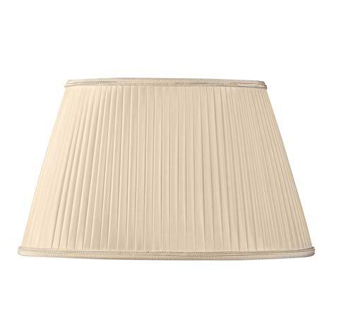 Pantalla para lámpara plisada Oval diámetro 30x 19/20x 15/18(plisada mano) paja