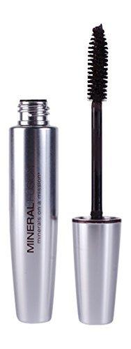 Mineral Fusion Volumizing Mascara, Jet, 0.57 oz (Packaging May Vary)