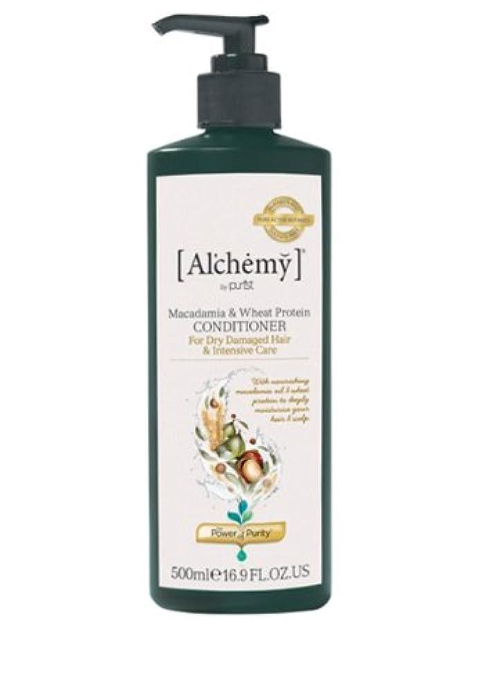 野生明日ペレグリネーション【Al'chemy(alchemy)】アルケミー マカダミア&ホイート(小麦) コンディショナー(Macadamia & Wheat Protein Conditioner)(ドライ髪用)500ml