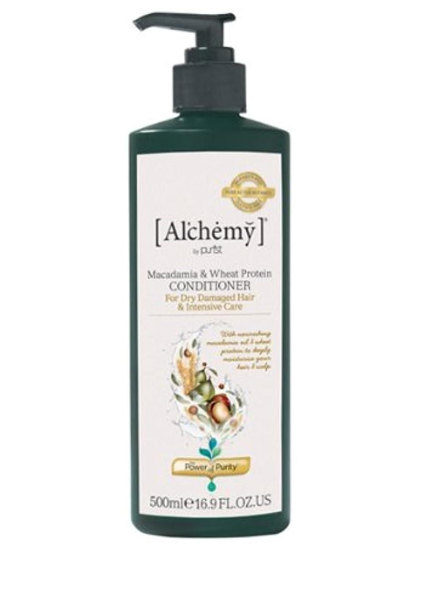 ばかげている保険救い【Al'chemy(alchemy)】アルケミー マカダミア&ホイート(小麦) コンディショナー(Macadamia & Wheat Protein Conditioner)(ドライ髪用)500ml