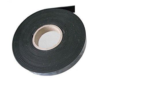 (2,08 €/m), Vollgummi ca. 9,6 Meter x 35 x 3 mm Gummistreifen Gummiprofil EPDM Hartgummi Vollgummidichtband, selbstklebend,