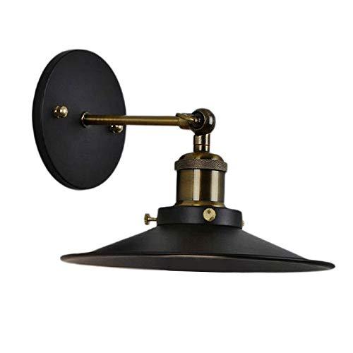 Baoblaze Lámpara de Pared Negra, Brazo oscilante Luces de Pared para Restaurante Bar Hotel Tienda Decoración