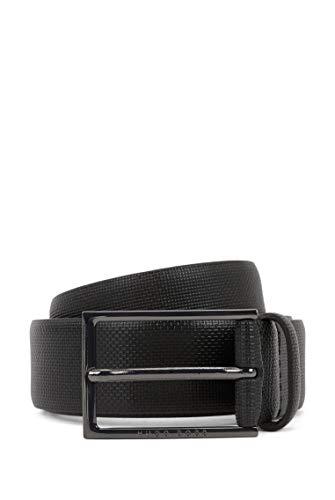 BOSS Carmello-s Cinturón, Negro (Black 001), 130 (Talla del fabricante: 115) para Hombre